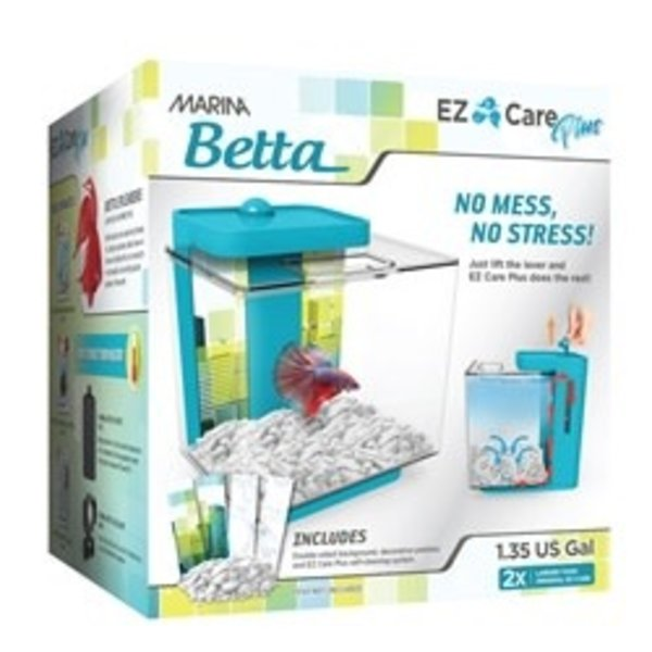 Marina Marina Betta EZ Care Plus Aquarium Kit - Blue - 5 L (1.35 US gal)