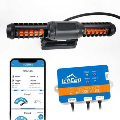 IceCap Gyre 4K Flow Pump with Dual Wifi Controller