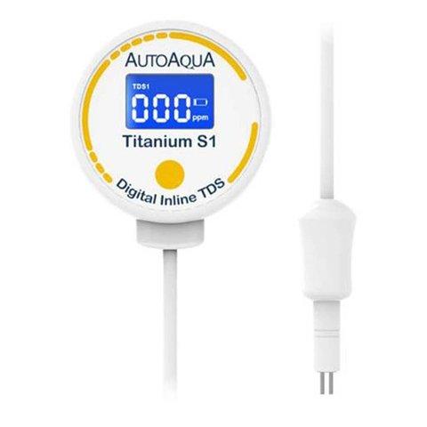 AutoAqua Digital Inline TDS - Titanium S1