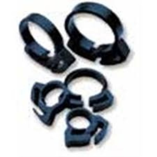 """Two Little Fishes Two Little Fishies Ratchet Clip Hose Clamp 3/4"""", 6 pack"""