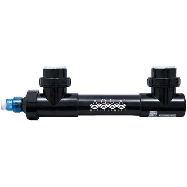 "Aqua Ultraviolet Aqua Ultraviolet 25 watt UV sterilizer, Black with 2"" fittings"