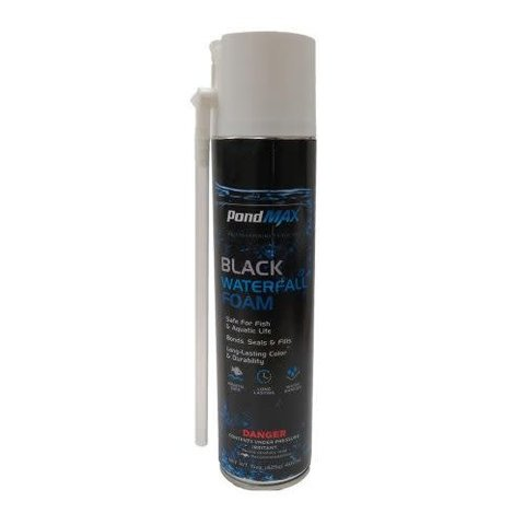 PondMax Black Waterfall Foam 16oz