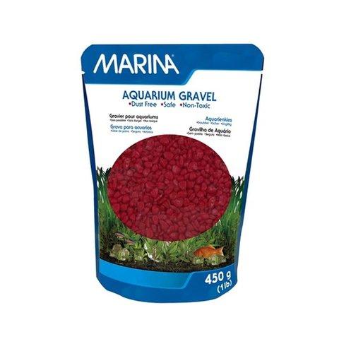 Marina Aquarium Gravel Red 450 gm
