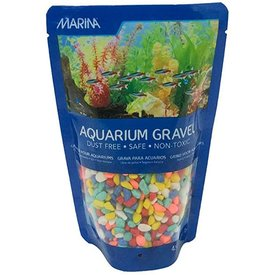 Marina Marina Aquarium Gravel Rainbow 450 gm