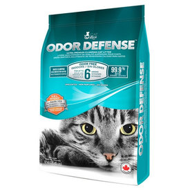 Cat Love Odor Defense Clumping Unscented Litter 12 kg