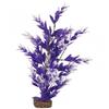 GloFish Plant Medium Purple/White