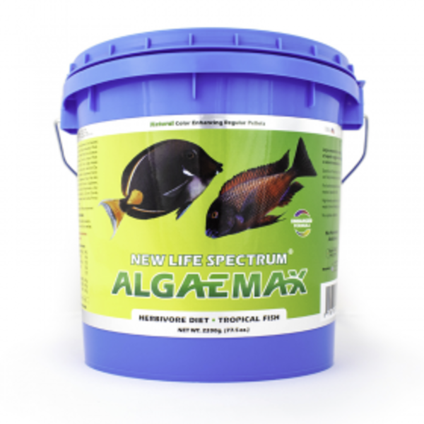 New Life Spectrum New Life AlgaeMAX Regular Pellet Sinking 1mm-1.5mm 2200g