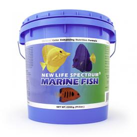 New Life Spectrum New Life Marine Fish Regular Pellet Sinking 1mm-1.5mm 2200g