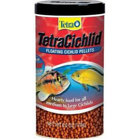 Tetra Tetra Cichlid Floating Pellets 6 oz
