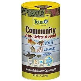 Tetra Tetra Community 3 in 1 Select A Food 3.25 oz