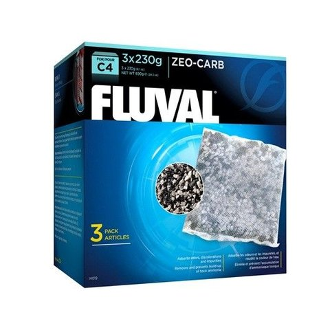 Fluval C4 Zeo-Carb 3 pack