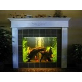 Aquarium Illusions Unique Fire Water Tank! by Aquarium Illusions