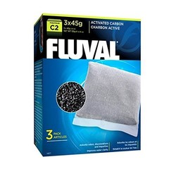 Products tagged with Fluval C2 Activated Carbon improves water clarity in fresh and saltwater aquariums.