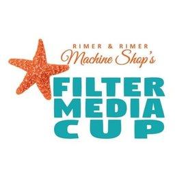 """Rimer & Rimer Machine Shop 4"""" Filter Media Cup"""