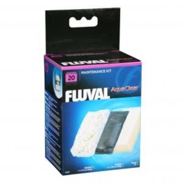 Fluval Aquaclear 30 Filter Media Kit