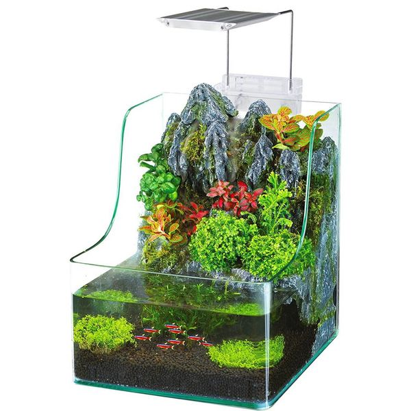 Penn Plax Aquaterrium Planting Tank 1.85 gal