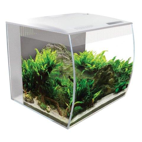 Fluval FLEX Aquarium Kit 15 Gallon - White