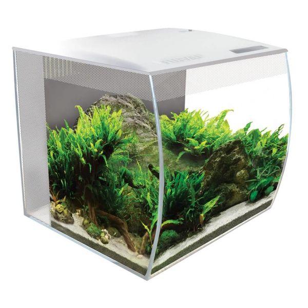 Fluval Fluval FLEX Aquarium Kit 15 Gallon - White