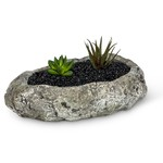 - ABBOTT LOW SHALLOW ROCK PUDDLE POT/PLANTER