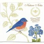 - ALICE'S COTTAGE BLUEBIRDS FLOUR SACK TOWEL