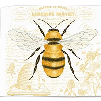 - ALICE'S COTTAGE HONEY BEE FLOUR SACK TOWEL