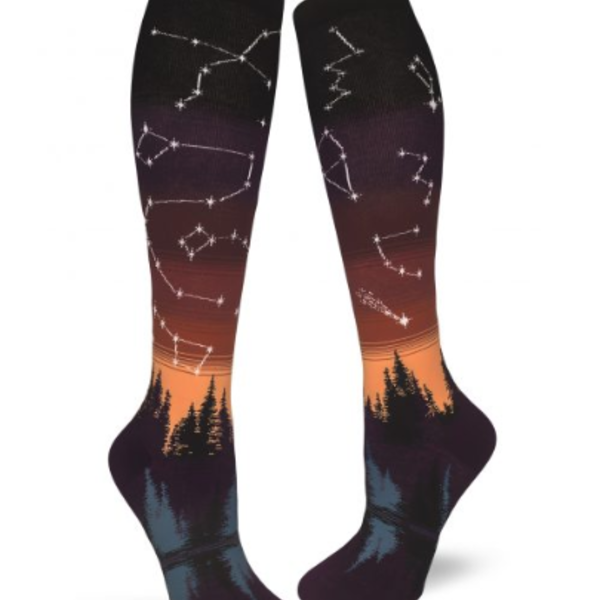 - MODSOCK CONSTELLATIONS KNEE SOCKS AFTERGLOW