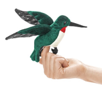 - FOLKMANIS MINI HUMMINGBIRD FINGER PUPPET