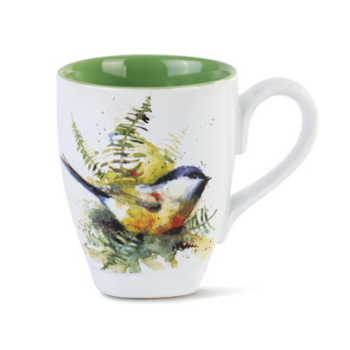 - DEMDACO SPRING CHICKADEE COFFEE MUG 16OZ