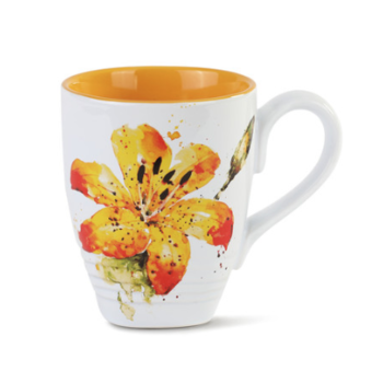 - DEMDACO TIGER LILY COFFEE MUG 16OZ