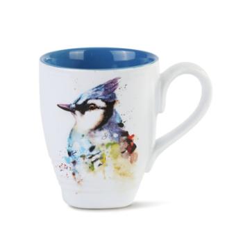 - DEMDACO BLUE JAY COFFEE MUG 16OZ