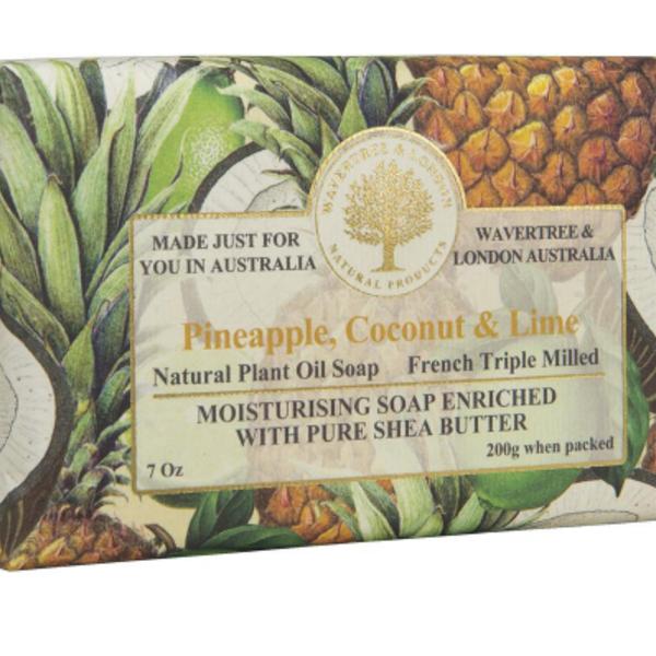 -AUSTRALIAN NATURAL SOAP PINEAPPLE COCONUT & LIME 7 OZ
