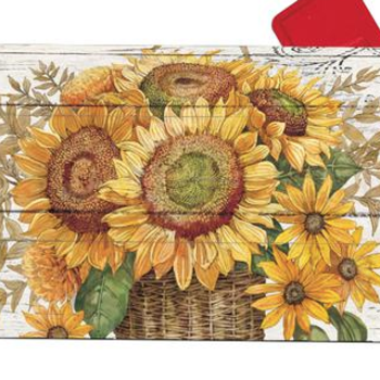 - MAGNET WORKS FARMHOUSE SUNFLOWER MAILBOX COVER