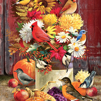 - COBBLE HILL AUTUMN BOUQUET PUZZLE 1000PC