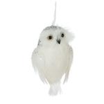 -ABBOTT WHITE OWL ORNAMENT