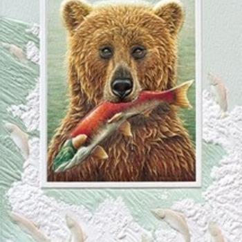 - PUMPERNICKEL PRESS BIRTHDAY CARD THE FISHERMAN