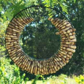 - SONGBIRD ESSENTIALS WHOLE PEANUT WREATH RING