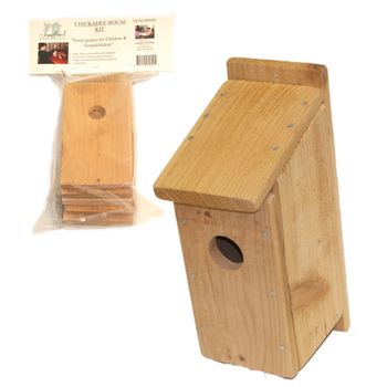 - ONGBIRD ESSENTIALS CHICKADEE HOUSE KIT