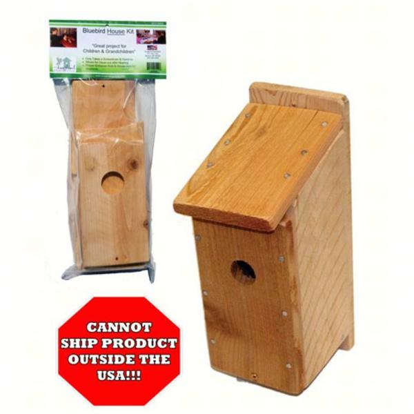 - SONGBIRD ESSENTIALS HOUSE KIT BLUEBIRD