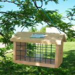 -SONGBIRD ESSENTIALS PROTECTED BLUEBIRD JAIL FEEDER SESC1040