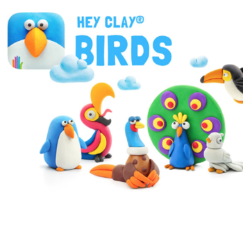 - FAT BRAIN TOYS HEY CLAY- BIRDS