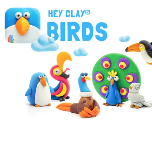 - FAT BRAIN TOYS HEY CLAY- BIRDS