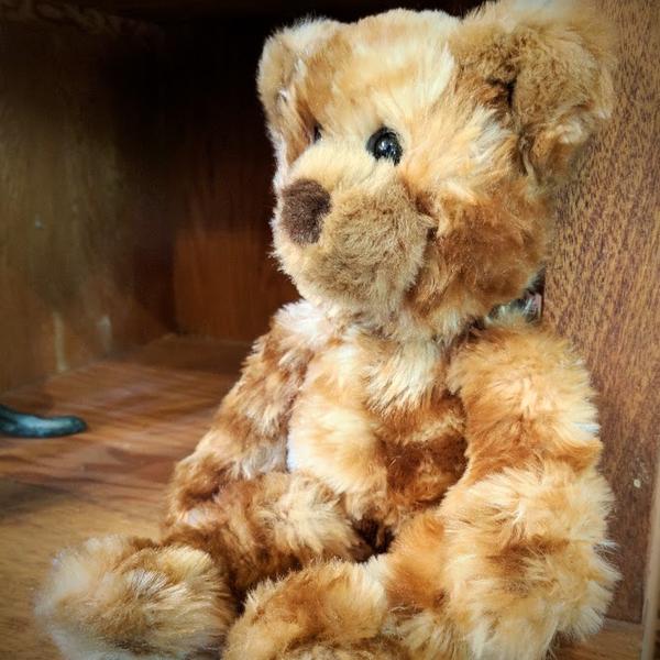 - DOUGLAS CUDDLE TOYS WAFFLES CINNAMON BEAR