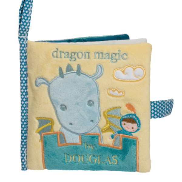 - DOUGLAS CUDDLE TOYS SOFT DRAGON & KNIGHT ACTIVITY BOOK