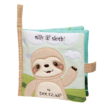 - DOUGLAS CUDDLE TOYS SOFT SLOTH ACTIVITY BOOK