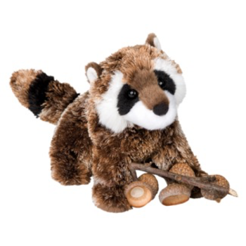 - DOUGLAS CUDDLE TOYS PATCH RACCOON