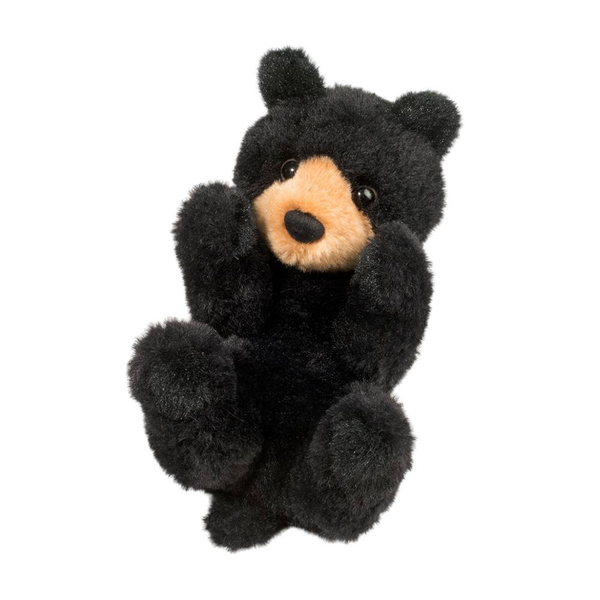 - DOUGLAS CUDDLE TOYS BLACK BEAR LIL' HANDFUL