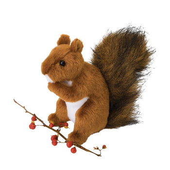 - DOUGLAS CUDDLE TOYS ROADIE RED SQUIRREL