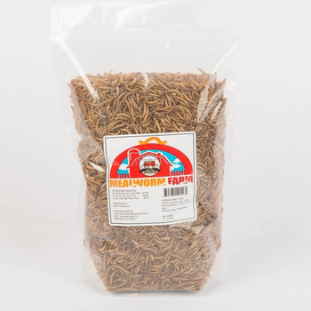 - LIZZIE MAE'S DRIED MEALWORMS 20OZ