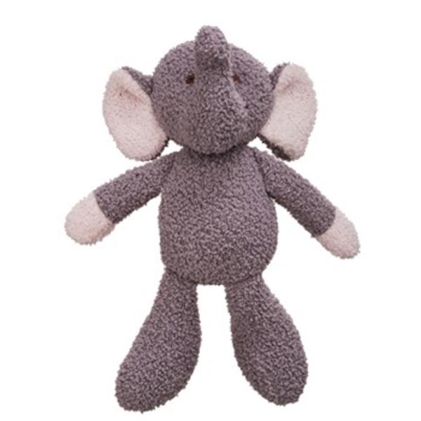 "- EVERGREEN VIE LUXE 12"" ELEPHANT STUFFED ANIMAL"