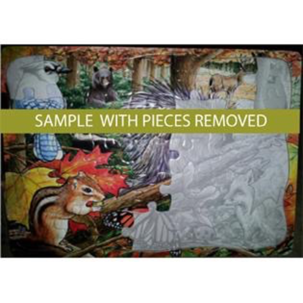 - COBBLE HILL BEAVER POND TRAY PUZZLE 35PC